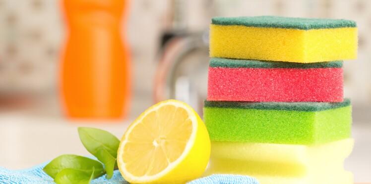 6 trucs pour bien nettoyer et désinfecter une éponge