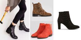 67805204c49edc Bottines à clous : la paire de chaussures tendance pour un hiver rock et  glamour