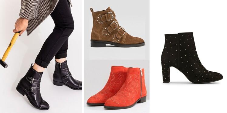 Bottines à clous : la paire de chaussures tendance pour un hiver rock et glamour