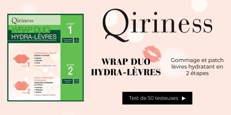 Testez le Wrap Hydra-Lèvres de QIRINESS