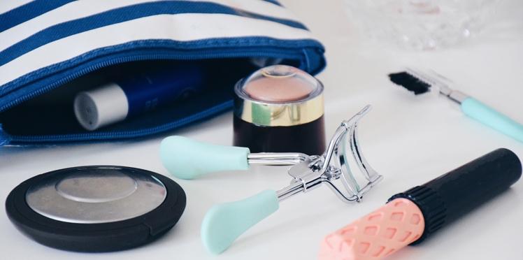 La trousse make-up idéale quand on part en week-end