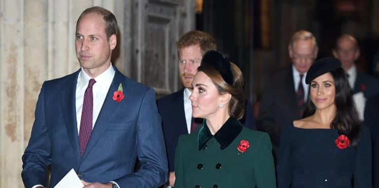Photos – Kate Middleton, Meghan Markle sublimes aux bras des princes William et Harry