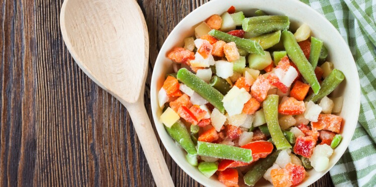 Comment bien cuisiner les l gumes surgel s femme actuelle le mag - Comment cuisiner les legumes ...
