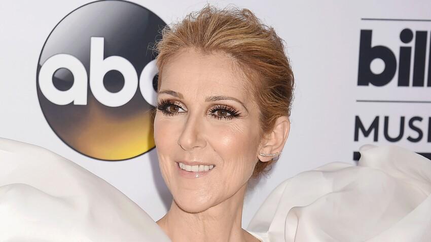 Céline Dion, la diva brille de mille feux dans un tailleur doré et bling-bling à souhait !
