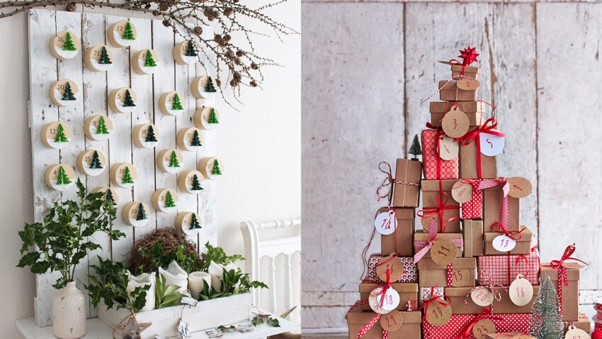 Bricolages de Noël faciles et pas chers : 3 calendriers de l'Avent fait maison