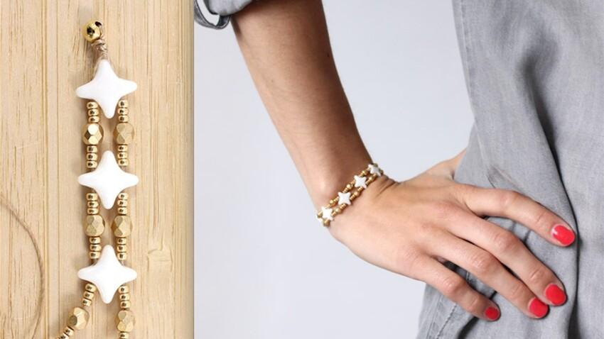 Cadeau fait-maison : un bracelet facile et tendance