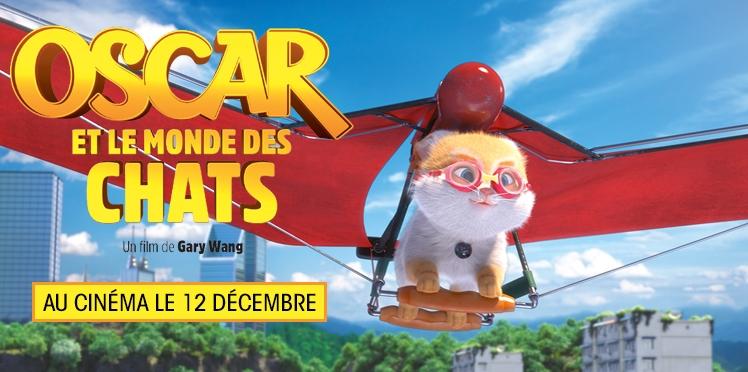 """Gagnez vos places pour """"Oscar et le monde des chats"""""""