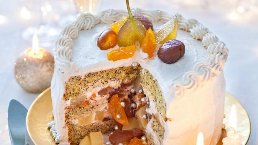 Gâteau de Noël : les recettes les plus tendance cette année