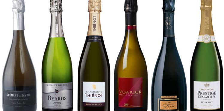 12 champagnes et vins pétillants pour des bulles à tous les prix