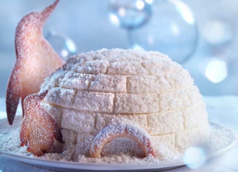 Bélier : un dôme glacé au chocolat en forme d'igloo pour Noël