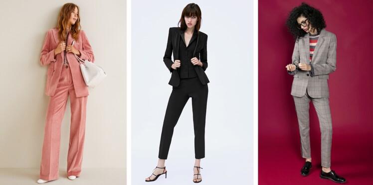Tailleur pantalon tendance : toutes les nouveautés pour un style working girl branché et stylé