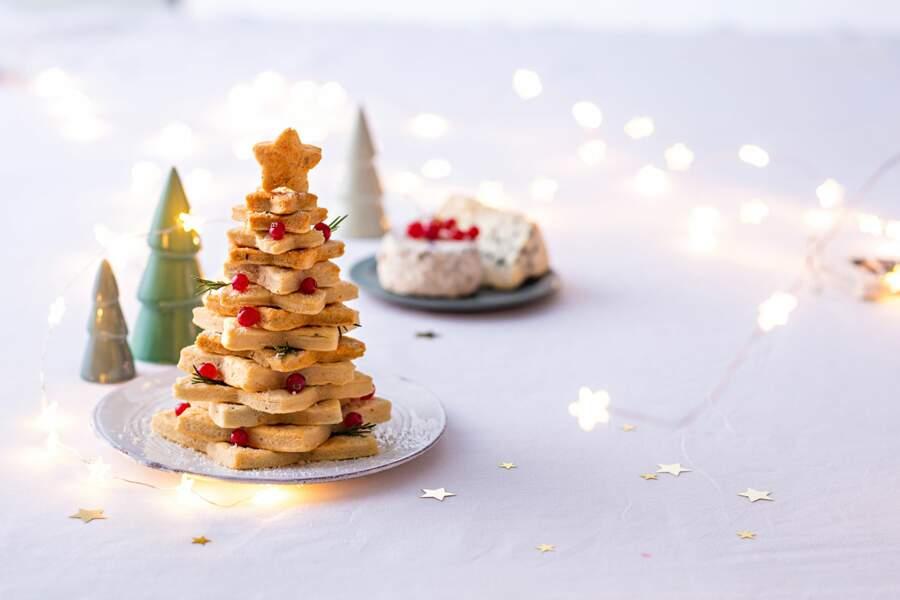 Bélier : un sapin de sablés au parmesan pour Noël