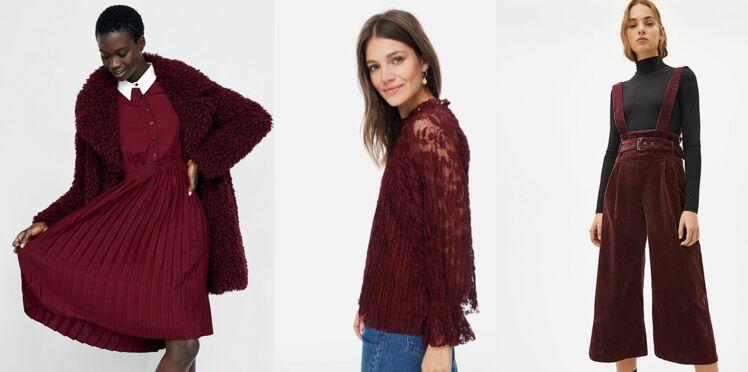 Vite : des pièces mode nuance bordeaux pour s'habiller comme Kate et Meghan !
