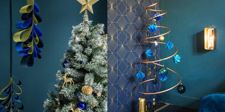 2 idées de décoration de Noël à faire à la maison avec du papier