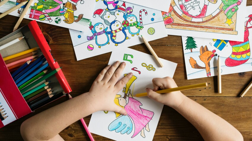 Coloriage de Noël : les meilleurs sites et applications gratuits