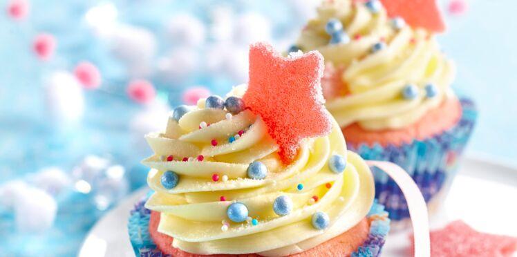 Cupcakes framboises et chocolat blanc