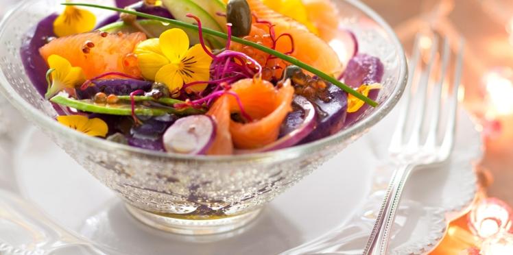 Salade de truite aux vitelottes