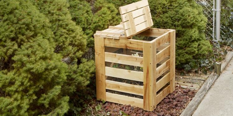 Comment faire un composteur en bois avec des palettes