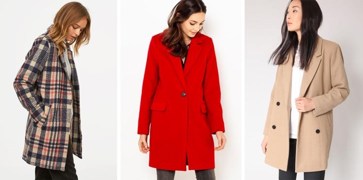 Les manteaux les plus canons de l'hiver à moins de 80 €
