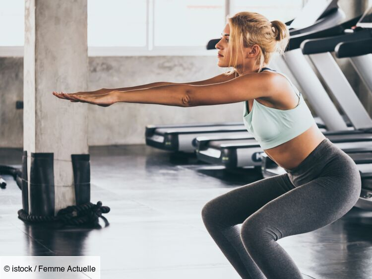 5 Types De Squats Pour Avoir De Belles Fesses Femme Actuelle Le Mag