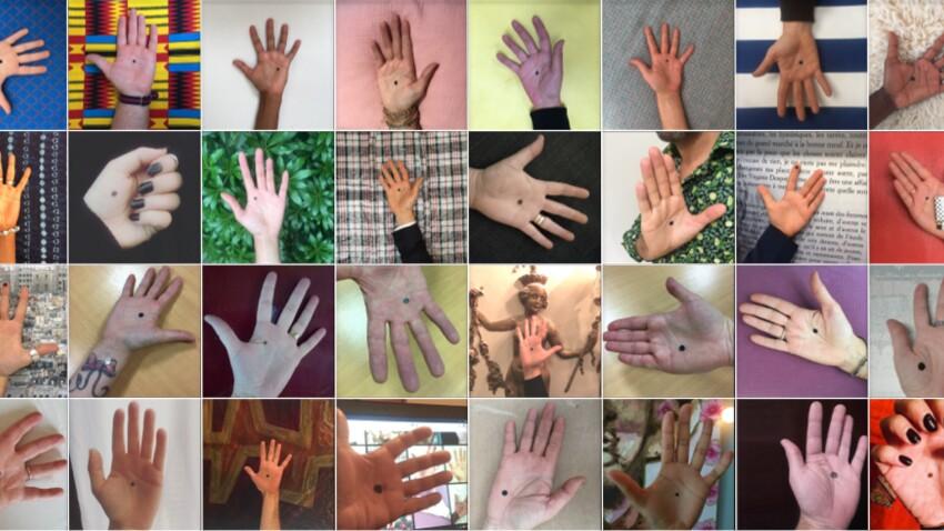 Le point noir, un code pour aider les victimes de violences à se confier