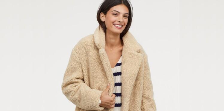 900dc6528e0a Manteau fluffy (ou moumoute)   les plus jolis modèles tendance et nos  conseils pour