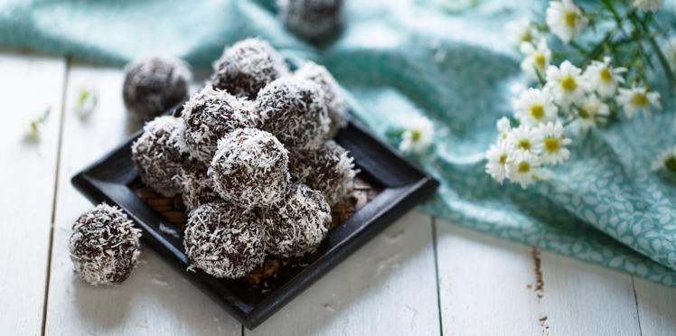 Energy balls peanut et cacao