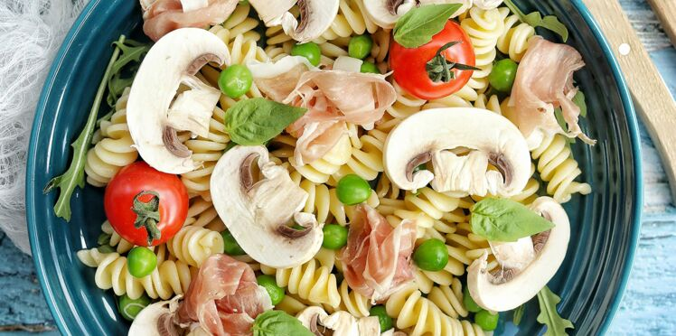 Salade italienne aux champignons