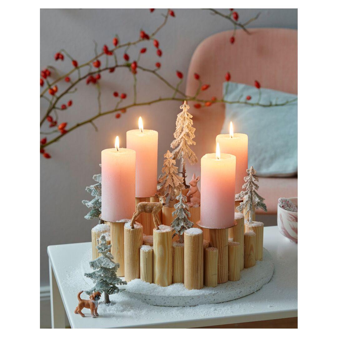 Deco De Table Bougie 6 idées de centre de table à faire avec des bougies pour