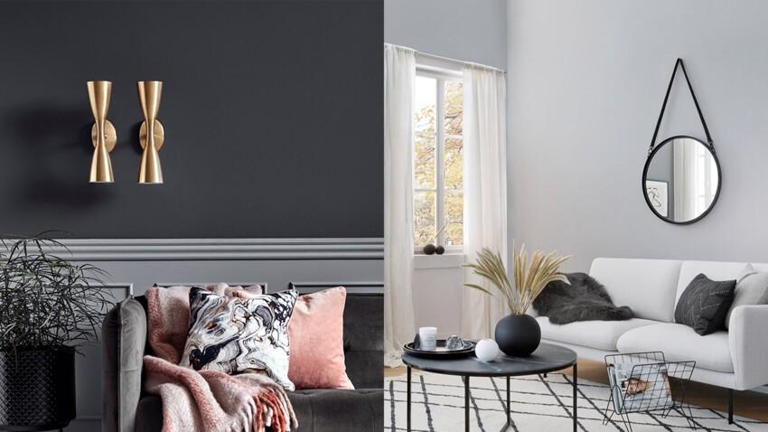 Déco de salon gris et blanc : nos conseils pour la réussir