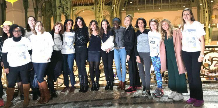 3eme Nuit des Relais : Julie Gayet, Anna Mouglalis, Enora Malagré courent contre les violences faites aux femmes avec la Fondation des Femmes