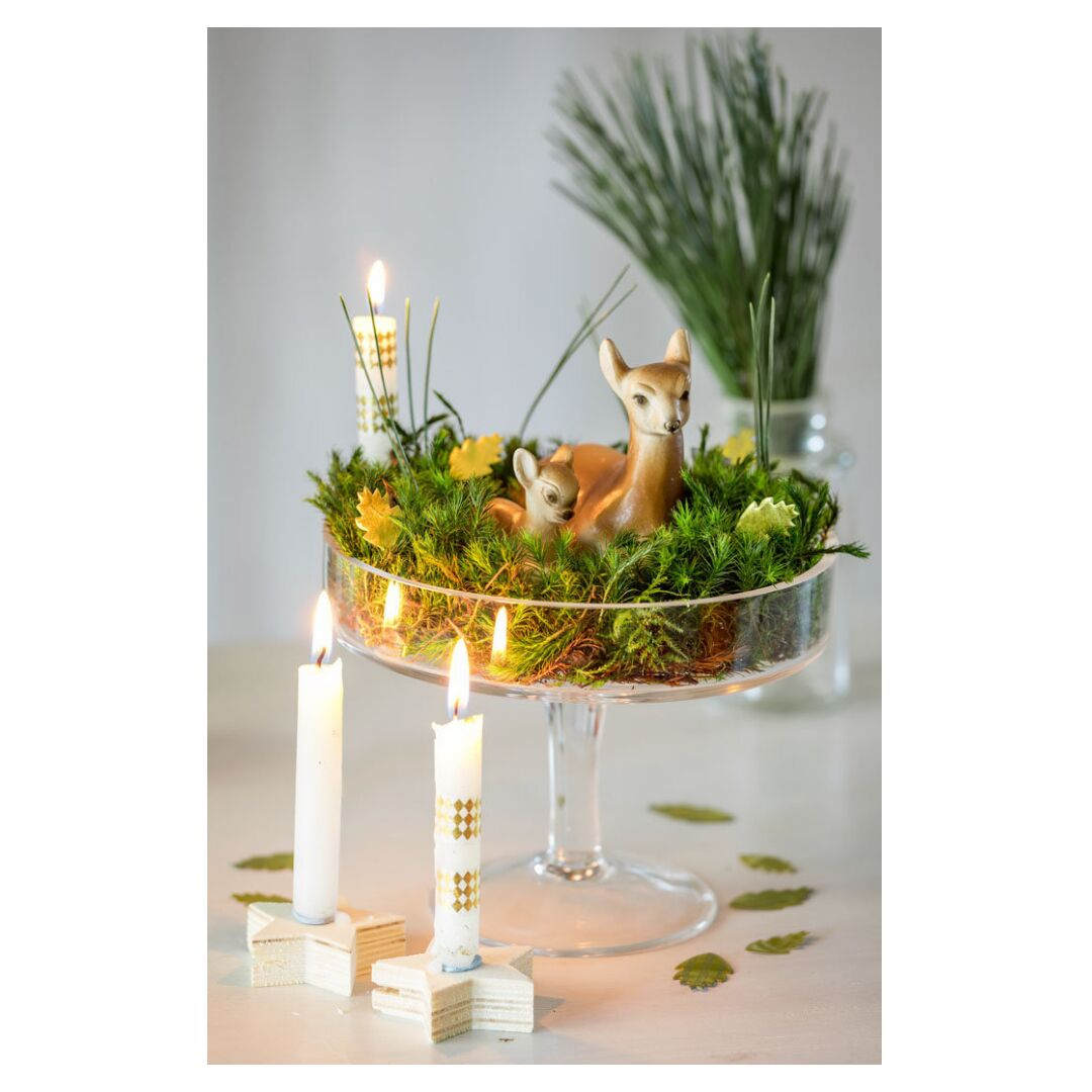 Centre De Table Pour Noel 6 Idees Vegetales A Faire Soi Meme