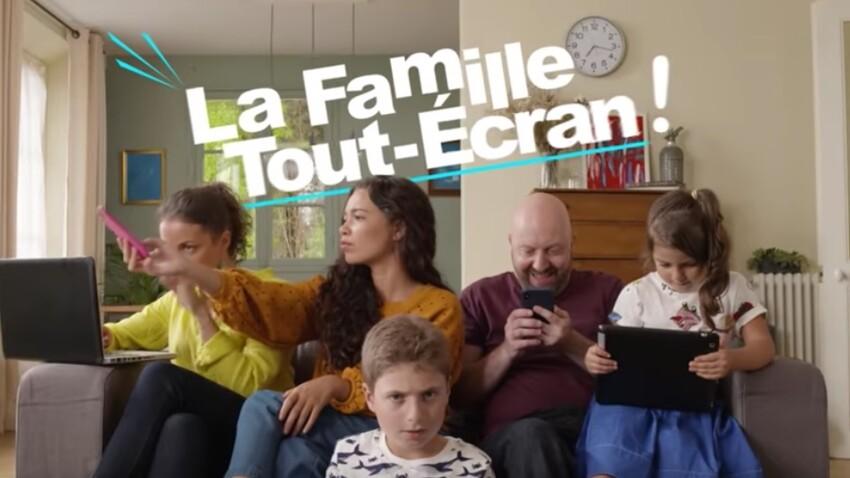 La Famille Tout-Ecran : une mini-série pour sensibiliser les accros aux écrans