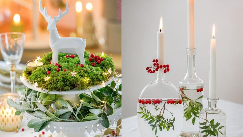 Centre de table pour Noël : 6 idées végétales à faire soi-même