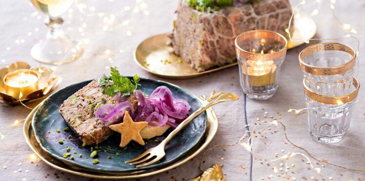 Terrine de gibiers et pickles d'oignons rouges d'Anne-Sophie Pic