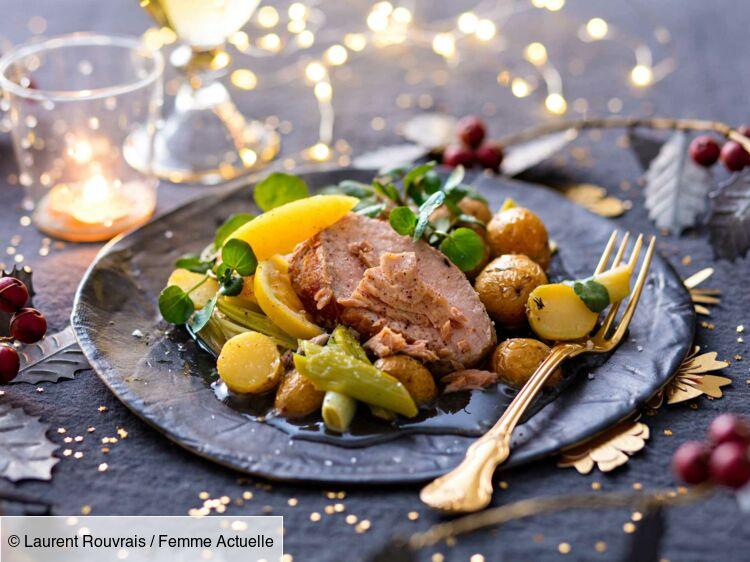Repas De Noel Nos Menus De Grands Chefs Femme Actuelle Le Mag