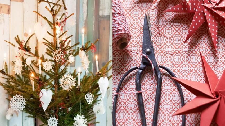 Nos plus belles décorations de Noël à fabriquer en papier