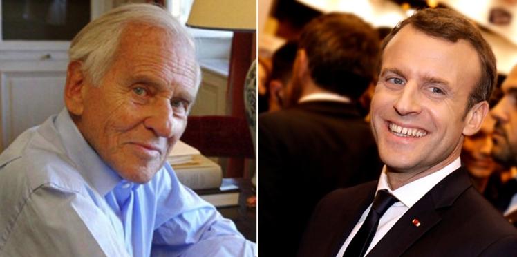 Un échange surprenant entre Jean d'Ormesson et Emmanuel Macron avant son élection dévoilé