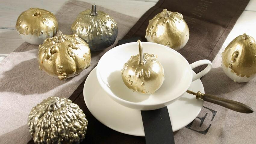Déco de Noël maison : un centre de table précieux mais pas cher
