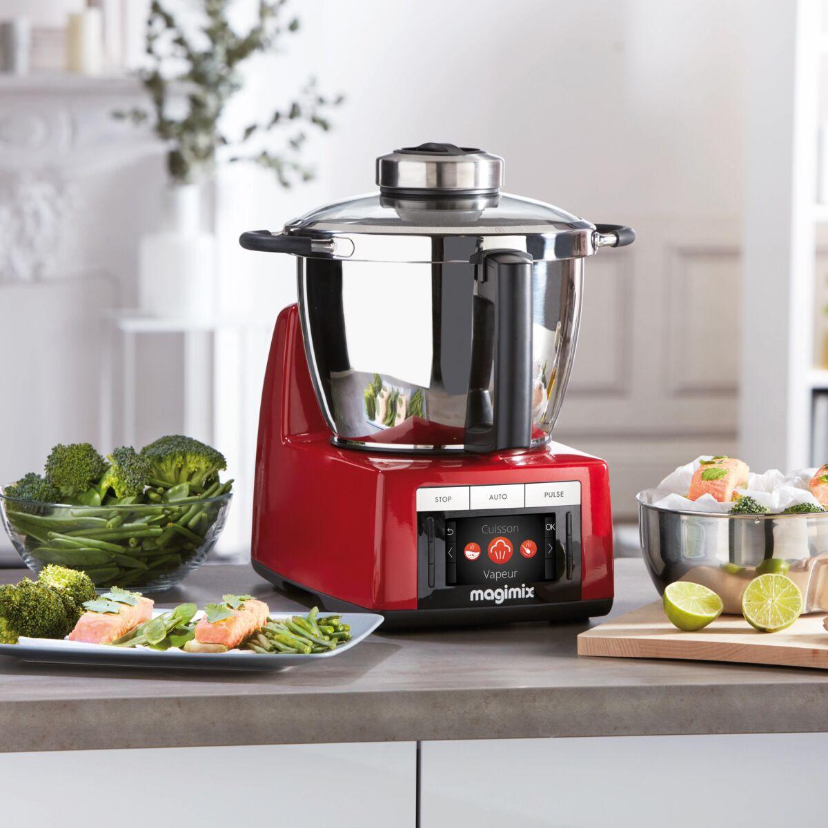 Thermomix Ou Magimix Que Choisir on a testé le robot cuiseur cook expert de magimix : femme