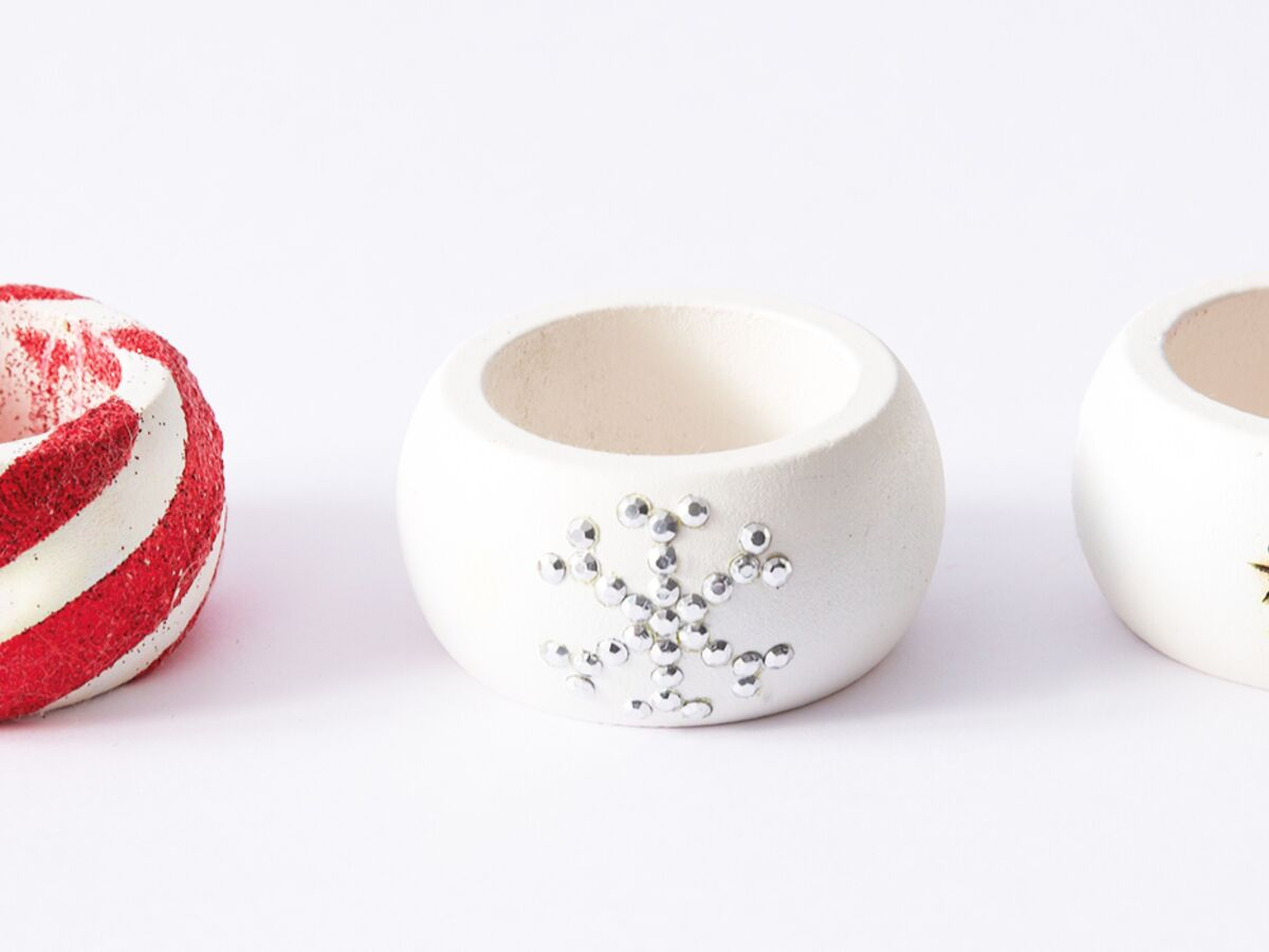 Rond De Serviette A Fabriquer Pour Noel décorations de noël à fabriquer en bois : des ronds de