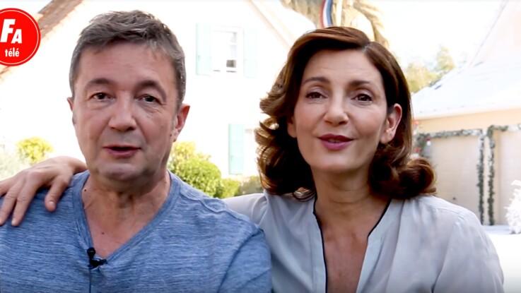 Vidéo (Exclu) Scènes de ménages : Valérie Karsenti et Frédéric Bouraly (José et Liliane) racontent leurs meilleurs et leurs pires souvenirs de Noël