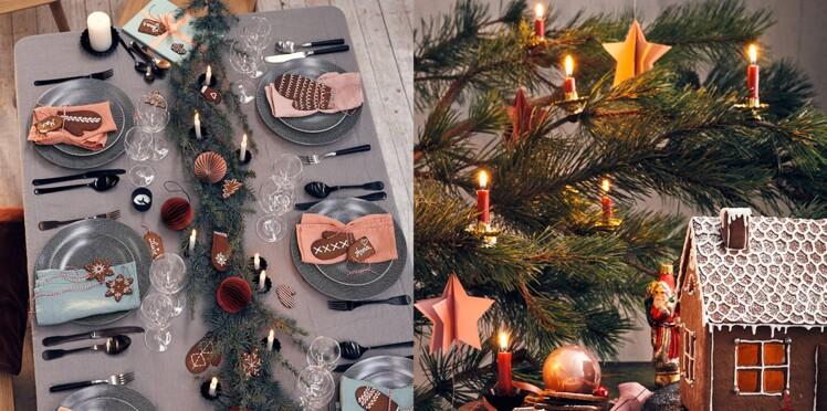 6 déco gourmandes pour une table du Nouvel an à l'esprit chalet de montagne
