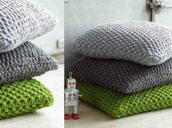 tricot facile 31 mod les gratuits faire au point mousse femme actuelle le mag. Black Bedroom Furniture Sets. Home Design Ideas
