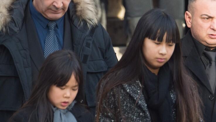 Photos - Le message émouvant de Jade Hallyday, un an après la mort de son père