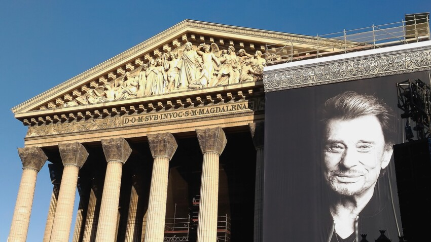 Obsèques de Johnny Hallyday à la Madeleine : ce que l'Elysée refuse de payer