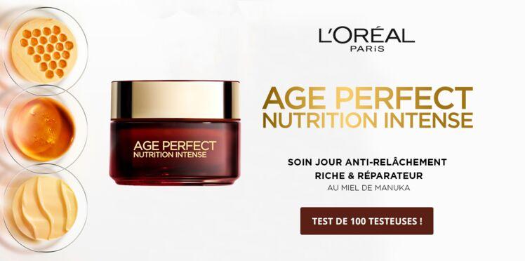 Testez le Soin de Jour Age Perfect Nutrition Intense de l'Oréal Paris