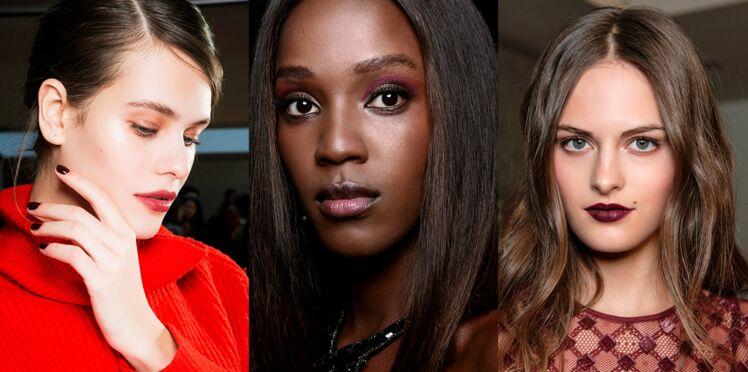 3 façons d'adopter le make-up bordeaux