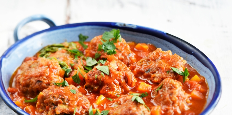 Polpette de veau et porc à la sauce napolitaine