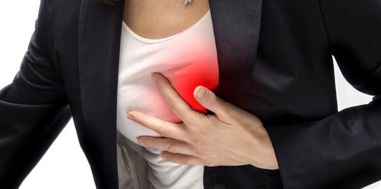 Infarctus chez la femme : les symptômes qui doivent alerter : Femme ...